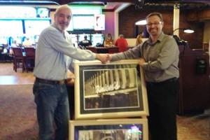 Binion's Casino Photos Presented to Bob Q