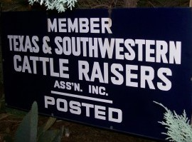 Texas & Southwestern Cattle Raisers Assn. 270x