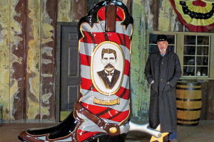 The BIG BOOT at Binion's – A Fun, Exciting Project!