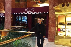 Bob Recently Visited the Trump Tower Bar in NYC