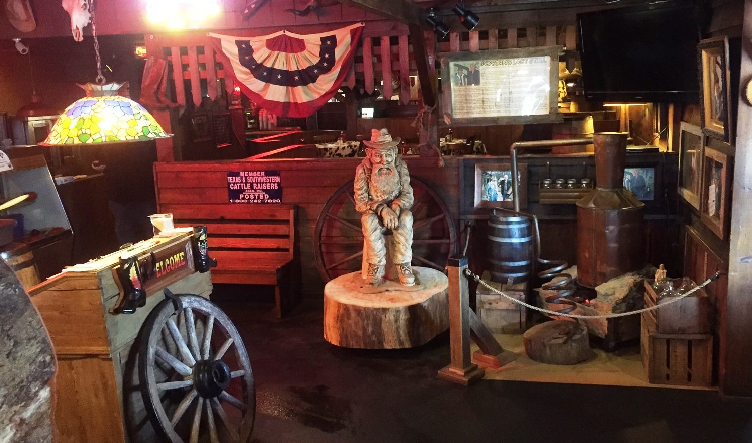 Popcorn Sutton Still-Binions Entrance
